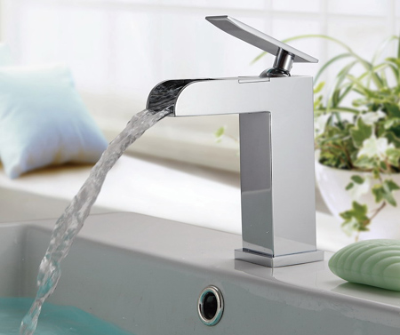 SUMERAIN Sanitary wares-waterfall faucet, Faucets,LED Faucet ...